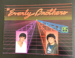 Programme Concert EVERLY BROTHERS TOUR 1985 - Other