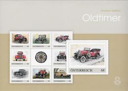 Oldtimers 8 Zegels In Map - Autriche