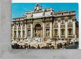 CARTOLINA VG ITALIA - ROMA - Fontana Di TREVI - 10 X 15 - ANN. 1968 - Fontana Di Trevi