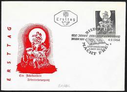 Austria/Autriche: FDC, 100° Del Movimento Operaio, 100th Of The Labor Movement, 100ème Du Mouvement Ouvrier - Fabbriche E Imprese