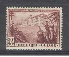 BELGIE - OBP Nr 358 - Sanatorium La Hulpe - MH* - Unused Stamps