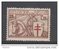 BELGIE - OBP Nr 395 - Ridder/Chevalier - MH*  -  Cote 3,80 € - Unused Stamps
