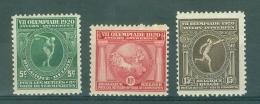 BELGIE - OBP Nr 179/181 - Olympiade Antwerpen - MH*- Cote 6,50 € - Unused Stamps