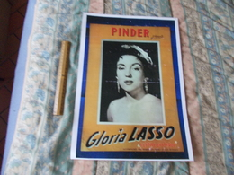 Affiche Cirque Pinder Gloria Lasso Reproduction Copie - Posters