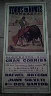 AFFICHE 30 GARD NIMES CORRIDA CAMINO MIURA CLAIRAC  ILLUSTRATEUR TOROS TAUREAUX ARENES - Posters
