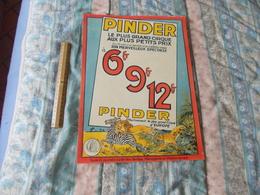 Affiche Cirque Pinder Le Plus Grand Cirque Aux Plus Petits Prix - Posters
