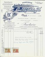 GAND - Louis De Nobele & Fils ( Papiers  Photographiques Industriels ) - Printing & Stationeries