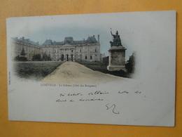 """LUNEVILLE  -- Le Château , Côté Des Bosquets - Cpa """"précurseur"""" Colorisée 1902 - Luneville"""