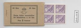 1939 MNH Booklet Mi 256-II  Sweden, Postfris - Boekjes