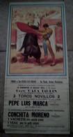 AFFICHE 84 VAUCLUSE  CORRIDA STE SAINTE CECILE LES VIGNES  ILLUSTRATEUR TOROS TAUREAUX ARENES - Posters