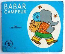Mini LIVRE BABAR CAMPEUR 181 -  HACHETTE 1969 Enfantina - Books, Magazines, Comics