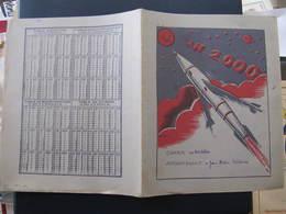 PROTEGE CAHIER - FUSEE - AN 2000 - Illustré Par R. BRESSON - Transports