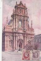 BELGIQUE Cachet LOUVAIN 4/6/1929 Sur Carte Postale Aquarelle Pour Sfax Tunisie - Lettres & Documents
