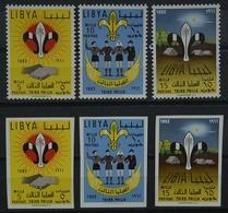 Lybien SET 122/124AB *  Siehe Bild (GA/10 - Libya
