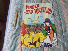 Affiche Cirque Pinder Jean Richard - Posters