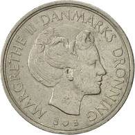 Monnaie, Danemark, Margrethe II, Krone, 1974, Copenhagen, TTB+, Copper-nickel - Denmark