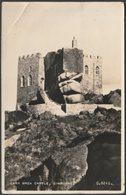 Carn Brea Castle, Camborne, Cornwall, 1957 - Valentine's RP Postcard - England