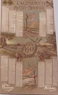 CALENDRIER ,,,,PORTE  BONHEUR  1918,,,,TBE ,,,, - Calendriers