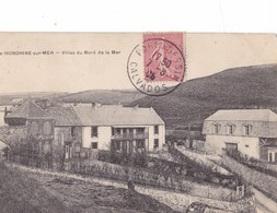 STE  HONORINE  SUR  MER,,,,   VILLAS DU  BORD  DE  MER ,,,, VOYAGE  1906,,,, - Otros Municipios
