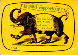 Le Petit Rapporteur - Télévision TF1 - Publicité - Eléphant (non écrite) - Éléphants