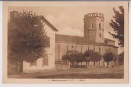 MAUBOURGUET (65) : L'EGLISE - EDITION LAFORGUE & CANFRANC TARBES  - 2 SCANS - - Maubourguet