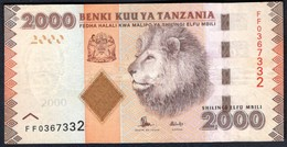 Tanzania - 2000 Shilingi 2015 - P42b - Tanzania