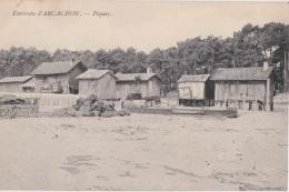 Bp - Cpa Environs D'ARCACHON - Piquey (1908) - Arcachon