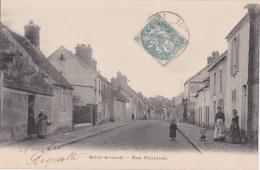 Bp - Cpa Saint Arnoult (78) - Rue Poupinel - St. Arnoult En Yvelines