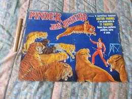 Affiche Cirque Pinder Jean Richard Dieter Farrel - Posters