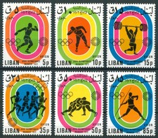 "1974 Libano Lebanon ""Munich 72"" Olimpiadi Olympics Games Jeux Olympiques Overprinted MNH** - Lebanon"