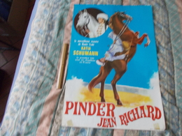 Affiche Cirque Pinder Jean Richard  Katia Schumann - Posters