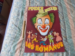 Affiche Cirque Pinder Jean Richard  Les Romanus - Posters