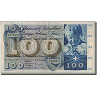Billet, Suisse, 100 Franken, 1956, 1956-10-25, KM:49a, TB - Switzerland