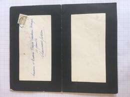 18E - Lettre Faire Part Antoine Toussaint Dcd Sart Saint Laurent 1963 - Obituary Notices