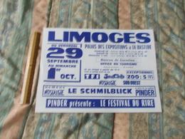 Affiche Cirque Pinder Jean Richard à Limoges Le Schmilblick - Posters