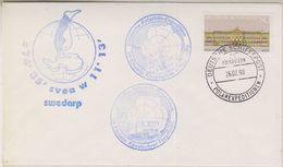 Germany 1990 Swedarp Ca Polarstern Cover (38489) - Poolshepen & Ijsbrekers