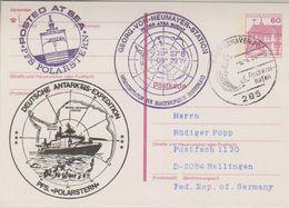 Germany 1984 Polarstern Postal Stationery Ca 6.4.84 (38490) - Poolshepen & Ijsbrekers