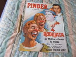 Affiche Cirque Pinder Les 4 Rudillata - Posters