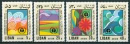 1975 Libano Lebanon Stockholm Conference On The Human Environment MNH** - Lebanon