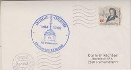 Germany 1984 Antarktis III Expedition Polarstern Cover (38491) - Poolshepen & Ijsbrekers