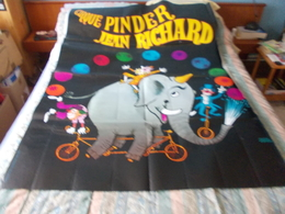 Grande Affiche Cirque Pinder Jean Richard - Posters