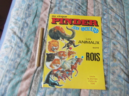 Affiche Cirque Pinder Jean Richard Les Animaux Sont Rois - Posters