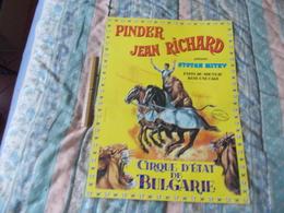 Affiche Cirque Pinder Jean Richard Présente Stoyan Mitev - Affiches