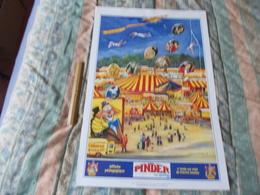 Affiche Cirque Pinder Jean Richard Affiche Pédagogique - Posters