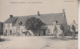 POUILLY SUR SAONE   UN COIN DE LA PLACE - Autres Communes