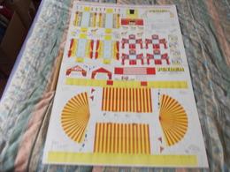 Cirque Pinder Chapiteau Et Véhicules A Découper - Paper Models / Lasercut