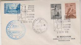 Argentina 1973 Cruceros Antartida Argentina Buque Libertad Cover (38498) - Poolshepen & Ijsbrekers