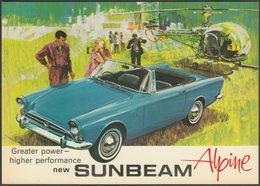 Advertising - Sunbeam Alpine, C.1980s - Beric Tempest Postcard - Passenger Cars