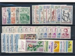 BS-432: MAROC: Lot** Avec N°405/409-413/420-435/444-471(4)-480/482-488/493 - Morocco (1956-...)
