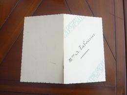 MENU MARIAGE ENGHIEN-LES-BAINS 21 MARS 1912 - Menus